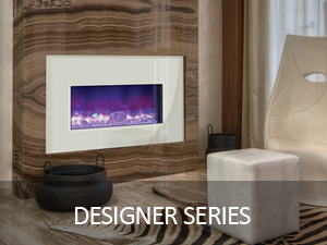 DESIGNER SERIES ELECTRIC FIREPLACES AMANTII