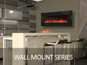 WALL MOUNT ELECTRIC FIREPLACES