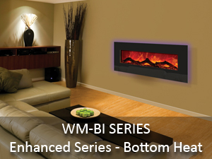 wall mount or built in electric fireplaces