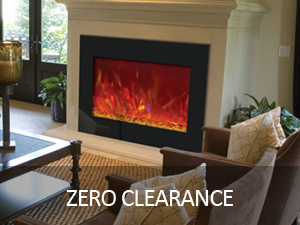 ZERO CLEARANCE - ELECTRIC FIREPLACES