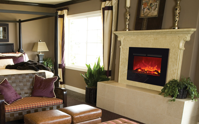zero clearance flushmount electric fireplaces