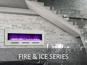 Fire and Ice - Design Series Electric Fireplaces